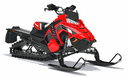 2018 Polaris 800 PRO-RMK 163 3 in. SnowCheck Select in Center Conway, New Hampshire