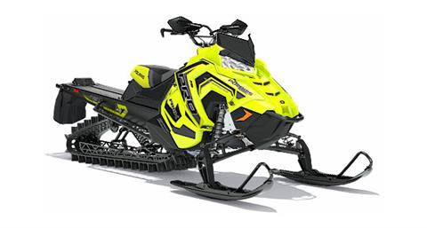 2018 Polaris 800 PRO-RMK 163 3 in. SnowCheck Select in Logan, Utah