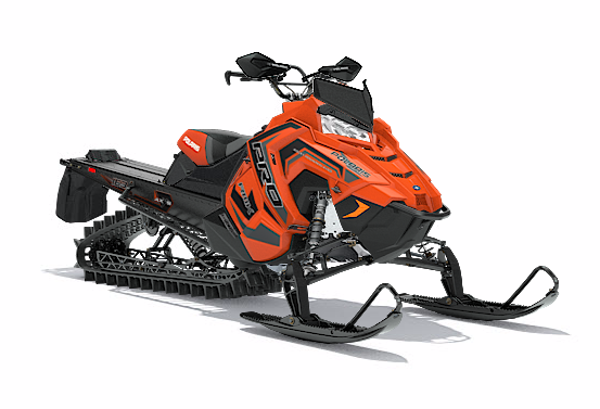 2018 Polaris 800 PRO-RMK 163 3 in. SnowCheck Select in Monroe, Washington