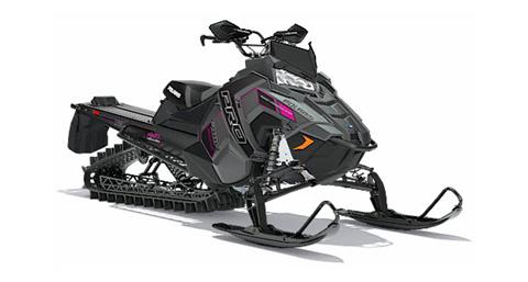 2018 Polaris 800 PRO-RMK 163 3 in. SnowCheck Select in Brewster, New York