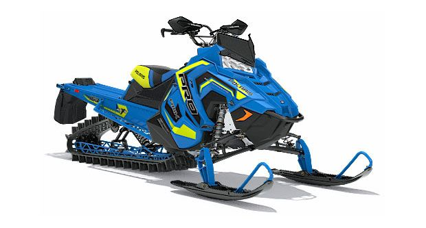 2018 Polaris 800 PRO-RMK 163 3 in. SnowCheck Select in Antigo, Wisconsin