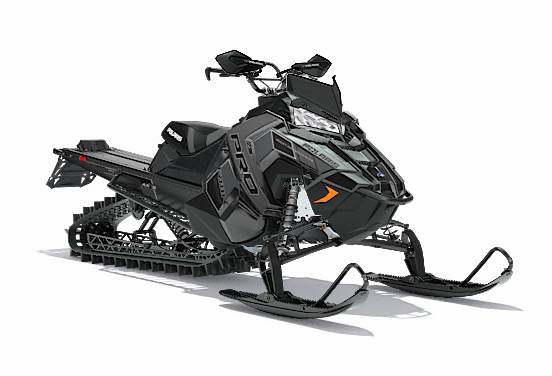 2018 Polaris 800 PRO-RMK 163 SnowCheck Select in Baldwin, Michigan