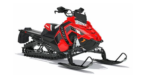2018 Polaris 800 PRO-RMK 163 SnowCheck Select in Bigfork, Minnesota
