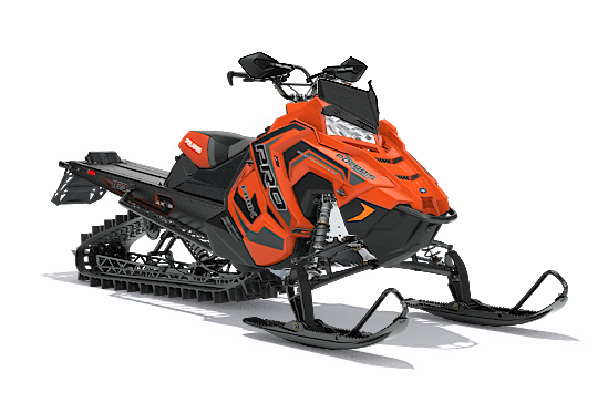 2018 Polaris 800 PRO-RMK 163 SnowCheck Select in Little Falls, New York