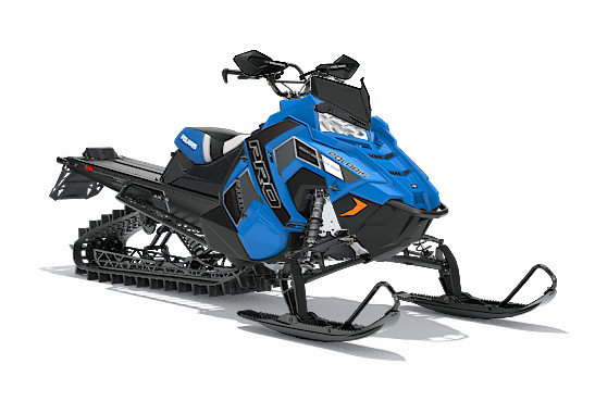 2018 Polaris 800 PRO-RMK 163 SnowCheck Select in Dimondale, Michigan