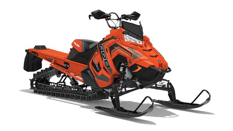 2018 Polaris 800 PRO-RMK 174 3 in. SnowCheck Select in Deerwood, Minnesota