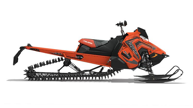2018 Polaris 800 PRO-RMK 174 3 in. SnowCheck Select in Three Lakes, Wisconsin