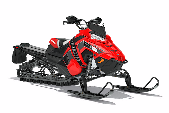 2018 Polaris 800 PRO-RMK 174 3 in. SnowCheck Select in Dimondale, Michigan