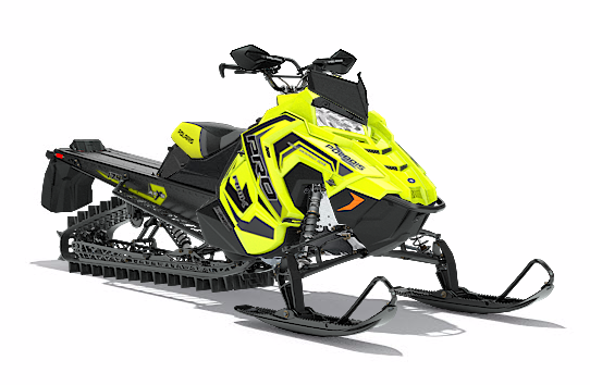 2018 Polaris 800 PRO-RMK 174 3 in. SnowCheck Select in Munising, Michigan