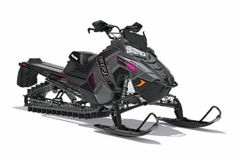 2018 Polaris 800 PRO-RMK 174 3 in. SnowCheck Select in Brewster, New York