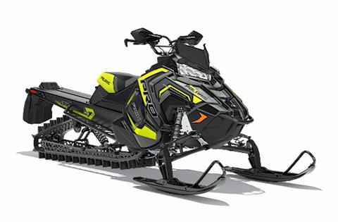 2018 Polaris 800 PRO-RMK 174 3 in. SnowCheck Select in Barre, Massachusetts
