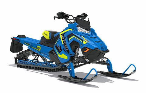 2018 Polaris 800 PRO-RMK 174 3 in. SnowCheck Select in Hancock, Wisconsin