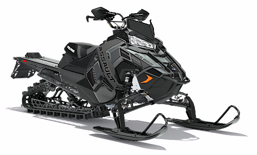 2018 Polaris 800 RMK Assault 155 in Barre, Massachusetts