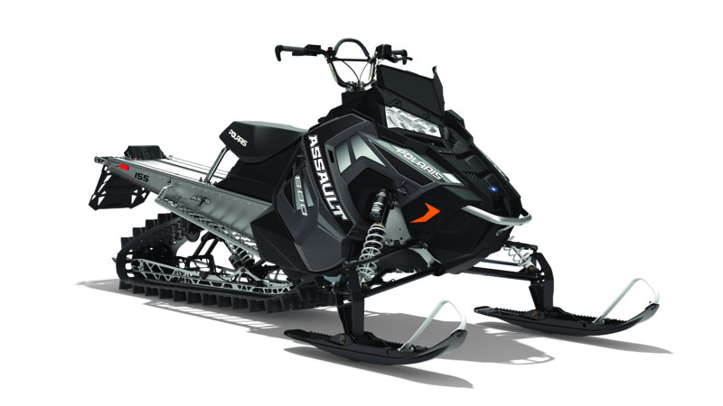 2018 Polaris 800 RMK Assault 155 ES in Barre, Massachusetts