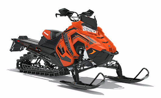 2018 Polaris 800 RMK Assault 155 SnowCheck Select in Elkhorn, Wisconsin