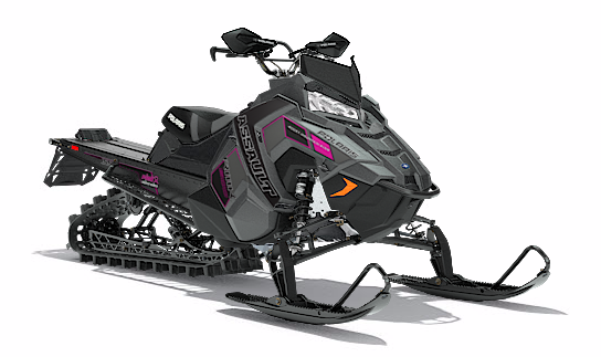 2018 Polaris 800 RMK Assault 155 SnowCheck Select in Logan, Utah