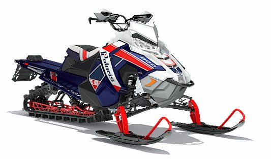 2018 Polaris 800 RMK Assault 155 SnowCheck Select in Munising, Michigan