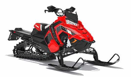 2018 Polaris 800 RMK Assault 155 SnowCheck Select in Milford, New Hampshire