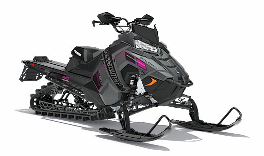 2018 Polaris 800 RMK Assault 155 SnowCheck Select in Hillman, Michigan