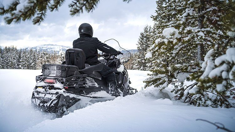 2018 Polaris 800 Titan Adventure 155 in Hancock, Wisconsin