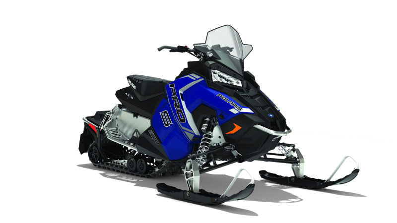 2018 Polaris 600 RUSH PRO-S ES in Milford, New Hampshire