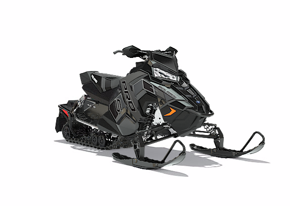 2018 Polaris 600 RUSH PRO-S SnowCheck Select 1.25 in Anchorage, Alaska