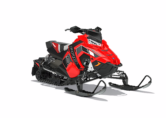 2018 Polaris 600 RUSH PRO-S SnowCheck Select 1.25 in Newport, Maine