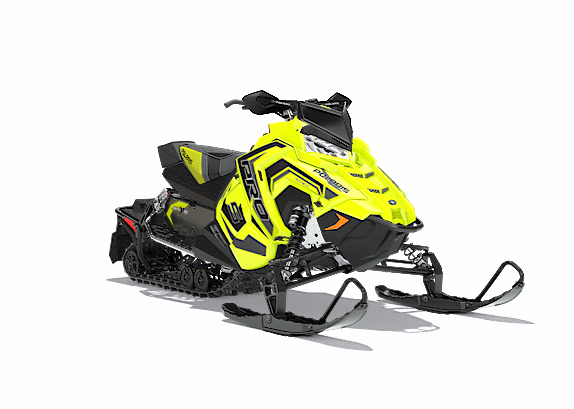 2018 Polaris 600 RUSH PRO-S SnowCheck Select 1.25 in Littleton, New Hampshire