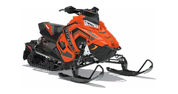 2018 Polaris 600 RUSH PRO-S SnowCheck Select 1.25 in Baldwin, Michigan