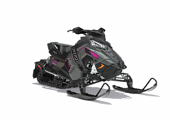 2018 Polaris 600 RUSH PRO-S SnowCheck Select 1.25 in Elkhorn, Wisconsin