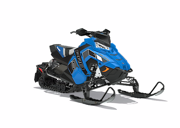 2018 Polaris 600 RUSH PRO-S SnowCheck Select 1.25 in Fond Du Lac, Wisconsin