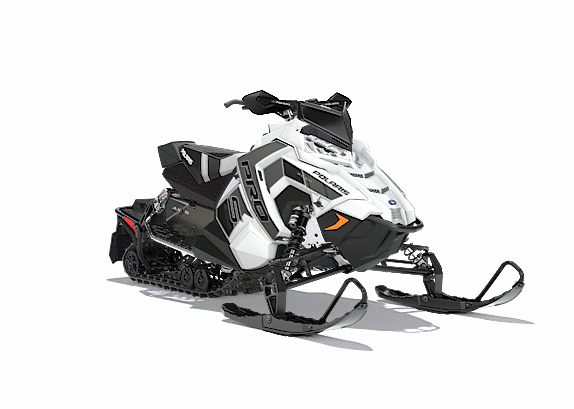 2018 Polaris 600 RUSH PRO-S SnowCheck Select 1.25 in Leesville, Louisiana