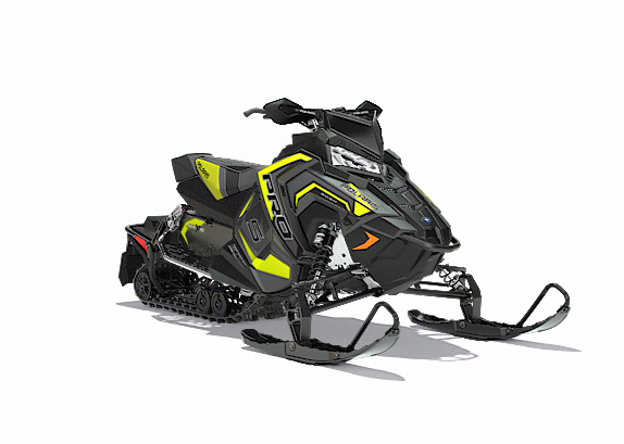 2018 Polaris 600 RUSH PRO-S SnowCheck Select 1.35 in Bigfork, Minnesota