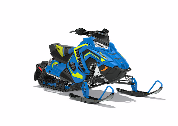 2018 Polaris 600 RUSH PRO-S SnowCheck Select 1.35 in Baldwin, Michigan