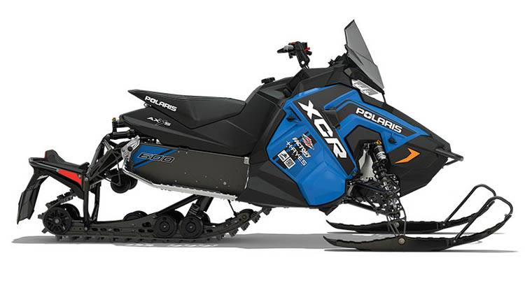 2018 Polaris 600 RUSH XCR SnowCheck Select in Sterling, Illinois