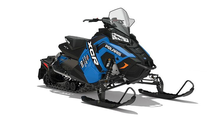 2018 Polaris 600 RUSH XCR SnowCheck Select in Calmar, Iowa