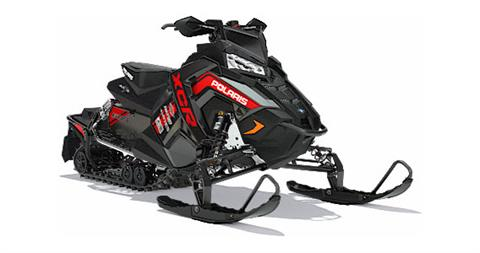 2018 Polaris 600 RUSH XCR SnowCheck Select in Pittsfield, Massachusetts