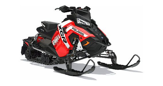 2018 Polaris 600 RUSH XCR SnowCheck Select in Barre, Massachusetts