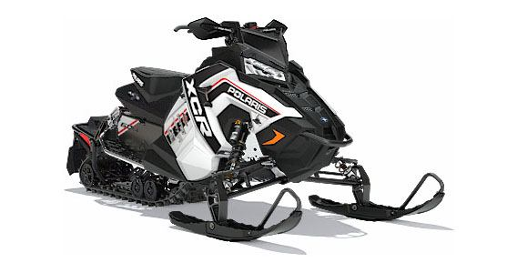2018 Polaris 600 RUSH XCR SnowCheck Select in Three Lakes, Wisconsin