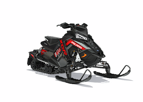 2018 Polaris 600 RUSH XCR SnowCheck Select in Delano, Minnesota