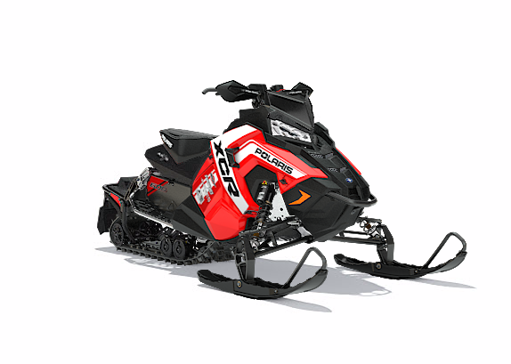 2018 Polaris 600 RUSH XCR SnowCheck Select in Chickasha, Oklahoma