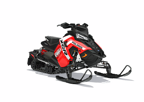 2018 Polaris 600 RUSH XCR SnowCheck Select in Baldwin, Michigan