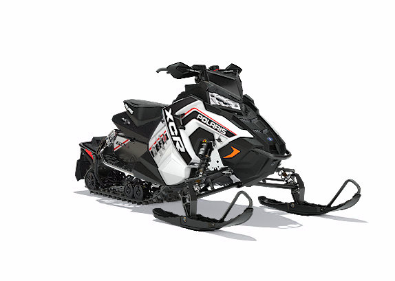 2018 Polaris 600 RUSH XCR SnowCheck Select in Hillman, Michigan