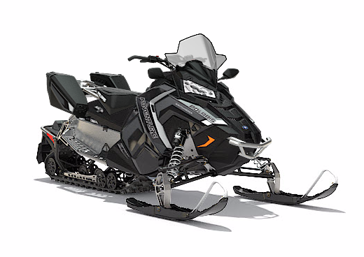 2018 Polaris 600 Switchback Adventure 137 ES in Bigfork, Minnesota