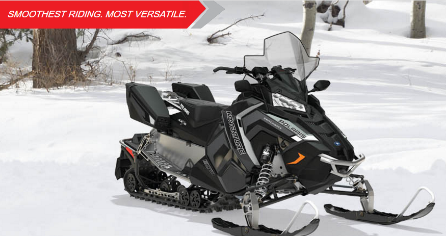 2018 Polaris 600 Switchback Adventure 137 ES in Munising, Michigan