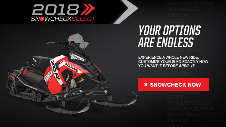 2018 Polaris 600 Switchback XCR SnowCheck Select in Mio, Michigan