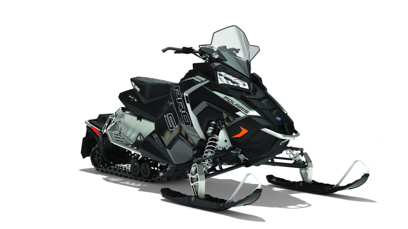 2018 Polaris 800 RUSH PRO-S ES in Bigfork, Minnesota