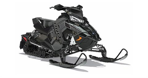 2018 Polaris 800 RUSH PRO-S SnowCheck Select in Altoona, Wisconsin
