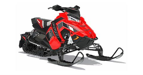 2018 Polaris 800 RUSH PRO-S SnowCheck Select in Wisconsin Rapids, Wisconsin