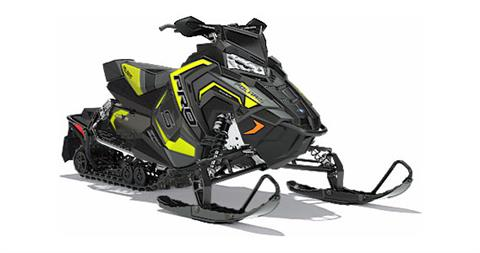 2018 Polaris 800 RUSH PRO-S SnowCheck Select in Elkhorn, Wisconsin
